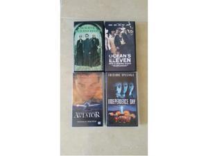 4 VHS videocassette originali SIAE