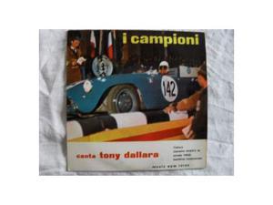 "45 giri ""I CAMPIONI"" [EPM ) by Tony Dallara (EP"