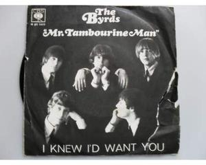 "45 giri ""MR. TAMBOURINE MAN"" () by The Byrds (7"")"