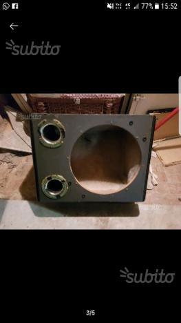 Box subwoofer 30 o 32 cm