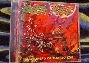 Dischi CD metal OVERKILL Masters Of Destruction