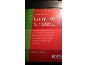 La guida turistica - Edizioni Hoepli - manuale esame guida