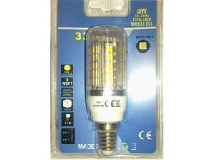 Lampada E led grandi - Luce Calda - 8W