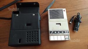Registratore audio a cassette vintage