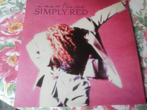 SIMPLY RED lp new flame 1a Stampa  NUOVO