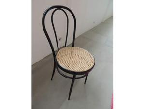 4 sedie thonet con seduta in paglia di vienna posot class - Sedia thonet originale ...