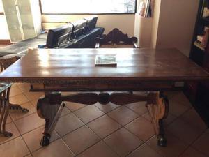 Credenza Con Zampe Di Leone : Tavolo di legno piedi a zampa leone posot class