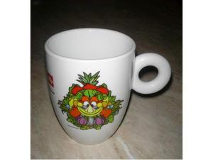Tazze mug expo illy mascotte ceramica