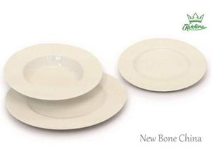 Terna piatti amelia bone china