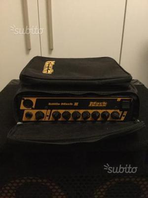 Testata basso elettrico mark bass