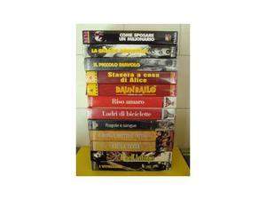 VIDEOCASSETTE VHS di vari generi tutte originali