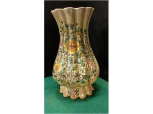 Vaso ceramica gubbio c.a.f.f.