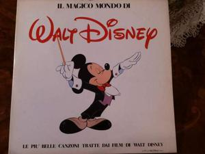 WALT DISNEY Il magico mondo di.. 2 lp  INASCOLTATO
