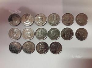 """17 monete """"i protagonisti del millennio"""""""