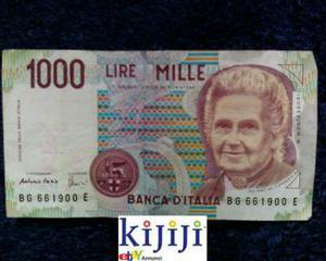 Banconote Da  E  Lire