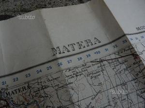 Cartina americana matera usa army ww1 ww2