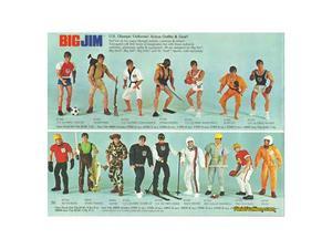 """Cerco: Personaggi ed accessori Serie """"BIG JIM"""" Mattel"""