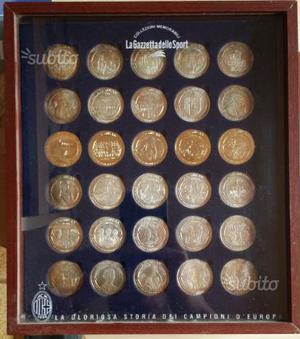 Collezione completa 30 medaglie AC Milan