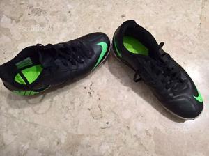"""Nike """"Bomba II turf, black/electric green"""" calcio5"""