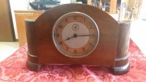 Orologio in radica di legno a carica