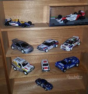 Rally e F1 modellini