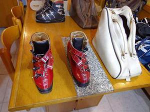 "Scarpe da sci vintage marca ""Caber"" anni '70"
