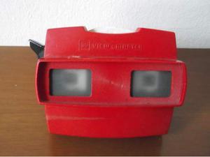 View master rosso anni ' + dischetto Disney