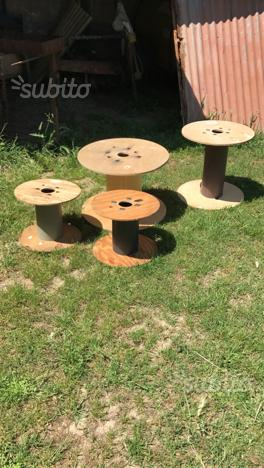 Bobine in legno