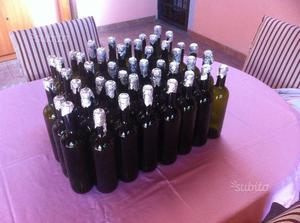 Bottiglie vuote per imbottigliamento vino