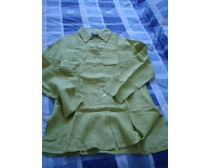 Camicia in lino Sandro Ferrone