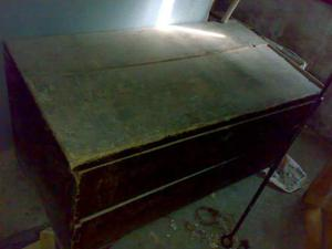 Cassa antica in legno fine 800