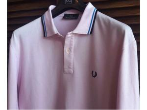 Polo Fred Perry tg. L/XL manica lunga