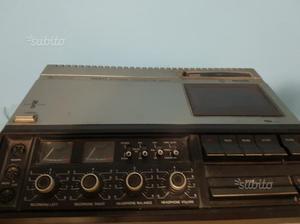 Registratore cassette philips vintage n