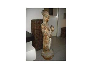 """Statua in legno """"GUANJIN"""" - CINA"""