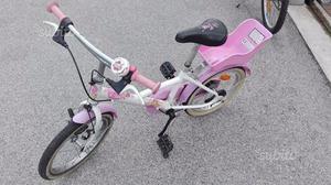 Bici per bambina 4/8 anni usata decatlon