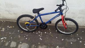 Bicicletta diametro ruota 20x190 bambino 6 anni 10