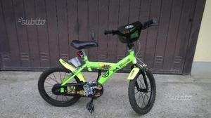 Bicicletta ninja turtles