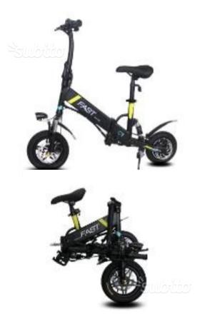 Bicicletta pieghevole elettrica bici posot class for Bici pieghevole elettrica usata