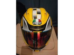 Casco AGV colorazione giallo