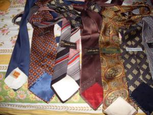 Lotto di 14 cravatte