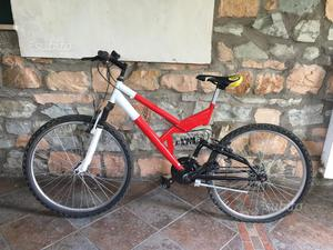 Mountain bike biammortizzata bicicletta