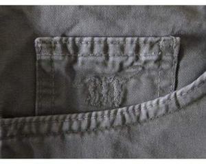 Pantaloni 5 tasche Henry Cotton's, colore verde, taglia 32