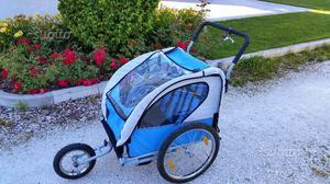 Rimorchio bici bambino