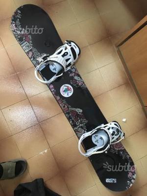 Burton Bullet + attacchi + scarponi