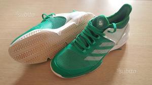 Scarpe Tennis Adizero Ubersonic 2 verdi