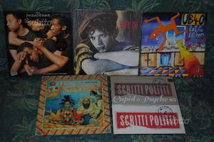 Album Raggae e Disco anni '80 in vinile