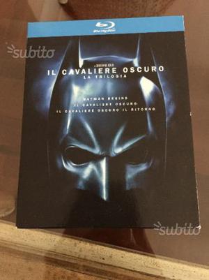 Batman la trilogia in blu ray