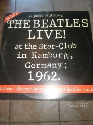 Doppio vinile The Beatles Live at the Star-Club