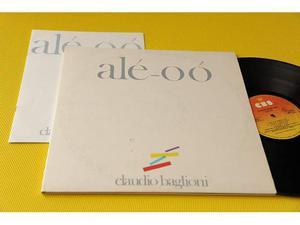 "LP Vinile Claudio Baglioni Live ""Alè oo'"""