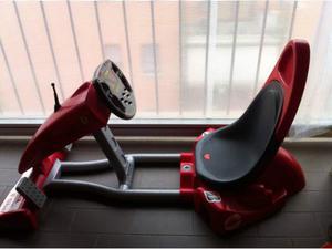 Macchina senza ruote con gioco di guida Ferrari